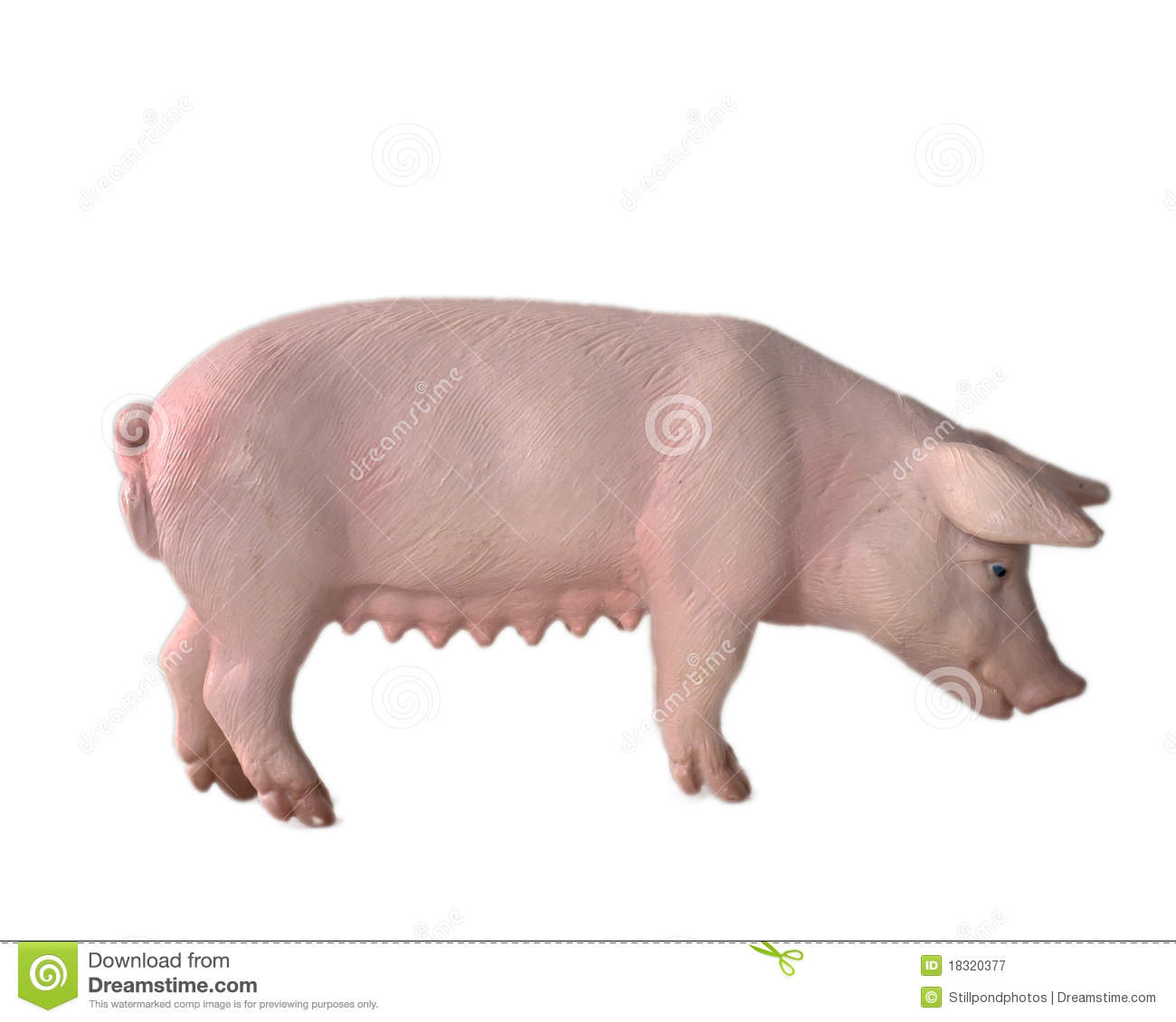 Toy Pig Royalty Free Stock Photography - Image: 18320377