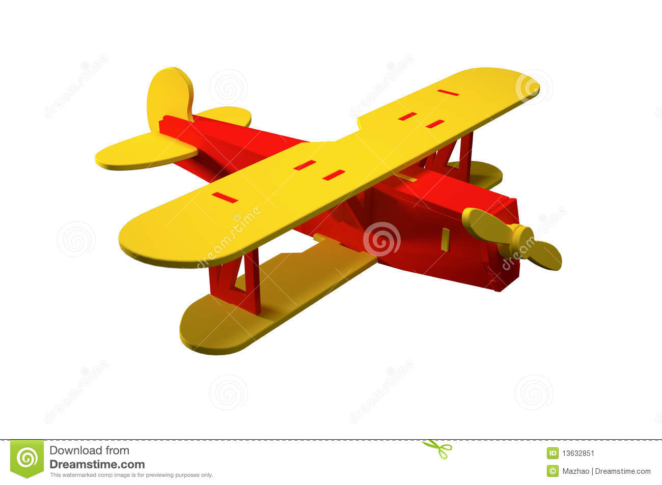 Toy Plane Stock Image Image 13632851