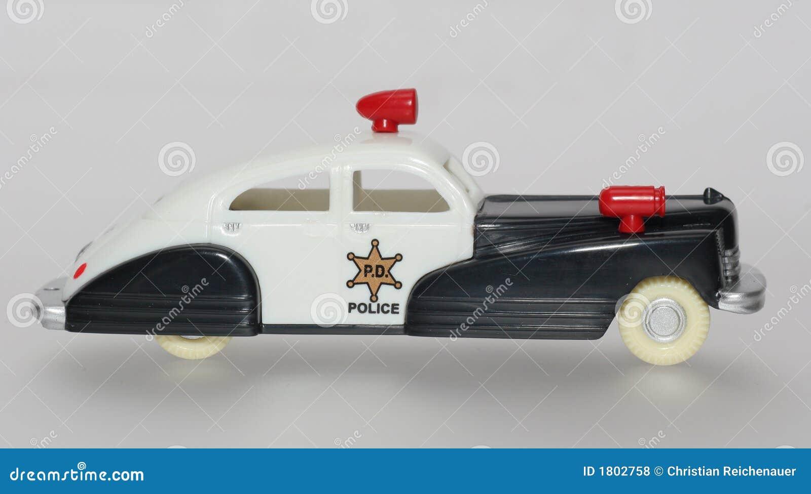 toy police car royalty free stock photos