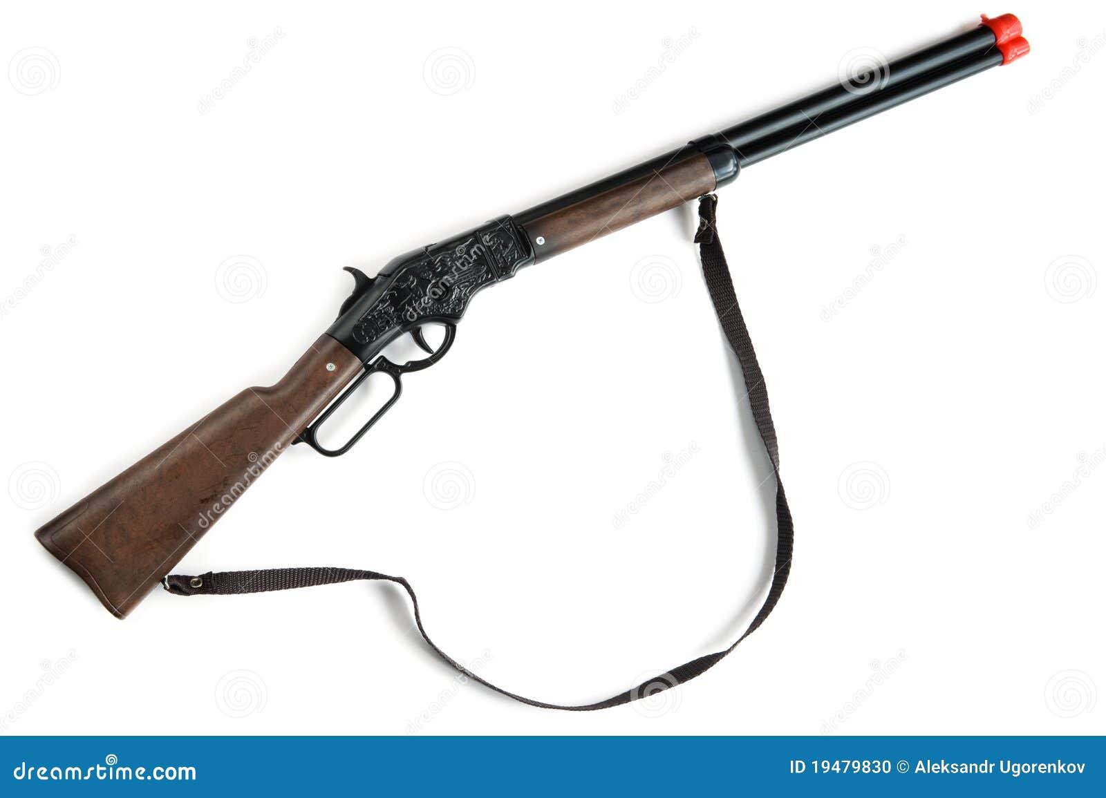 Toy Rifle Stock Photo
