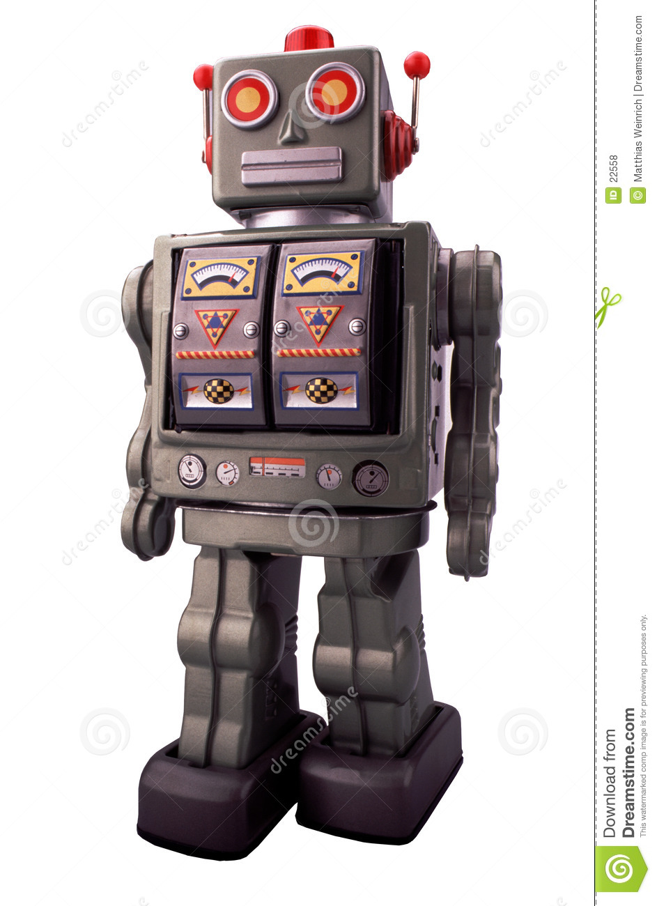 Toy Robot Stock Photo Image Of Made Robot Robots Toys 22558