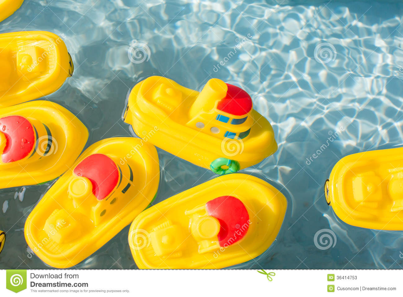 Toy Rubber Boat Stock Photos Image 36414753