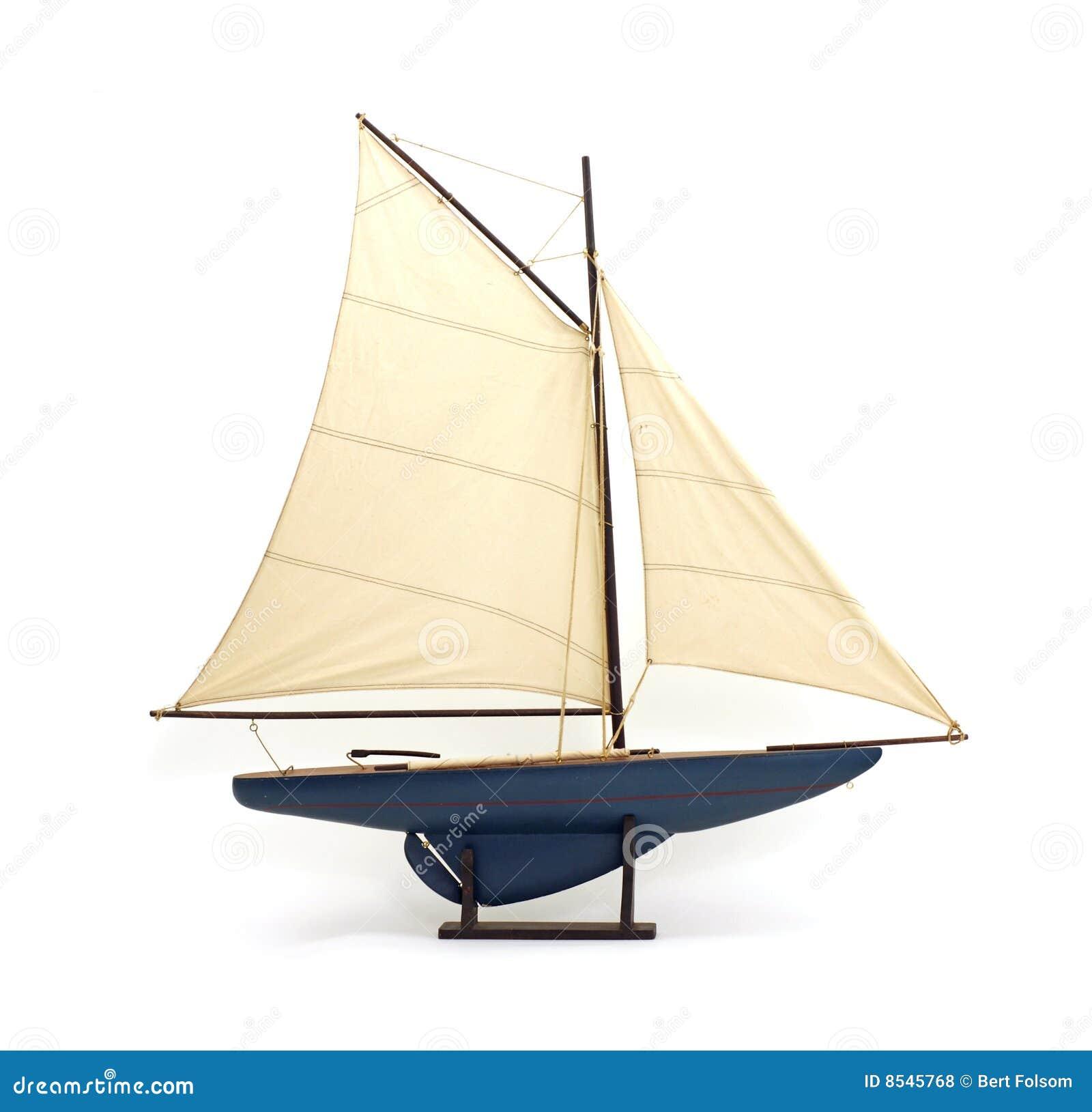 Toy Sailboat Royalty Free Stock Photos - Image: 8545768
