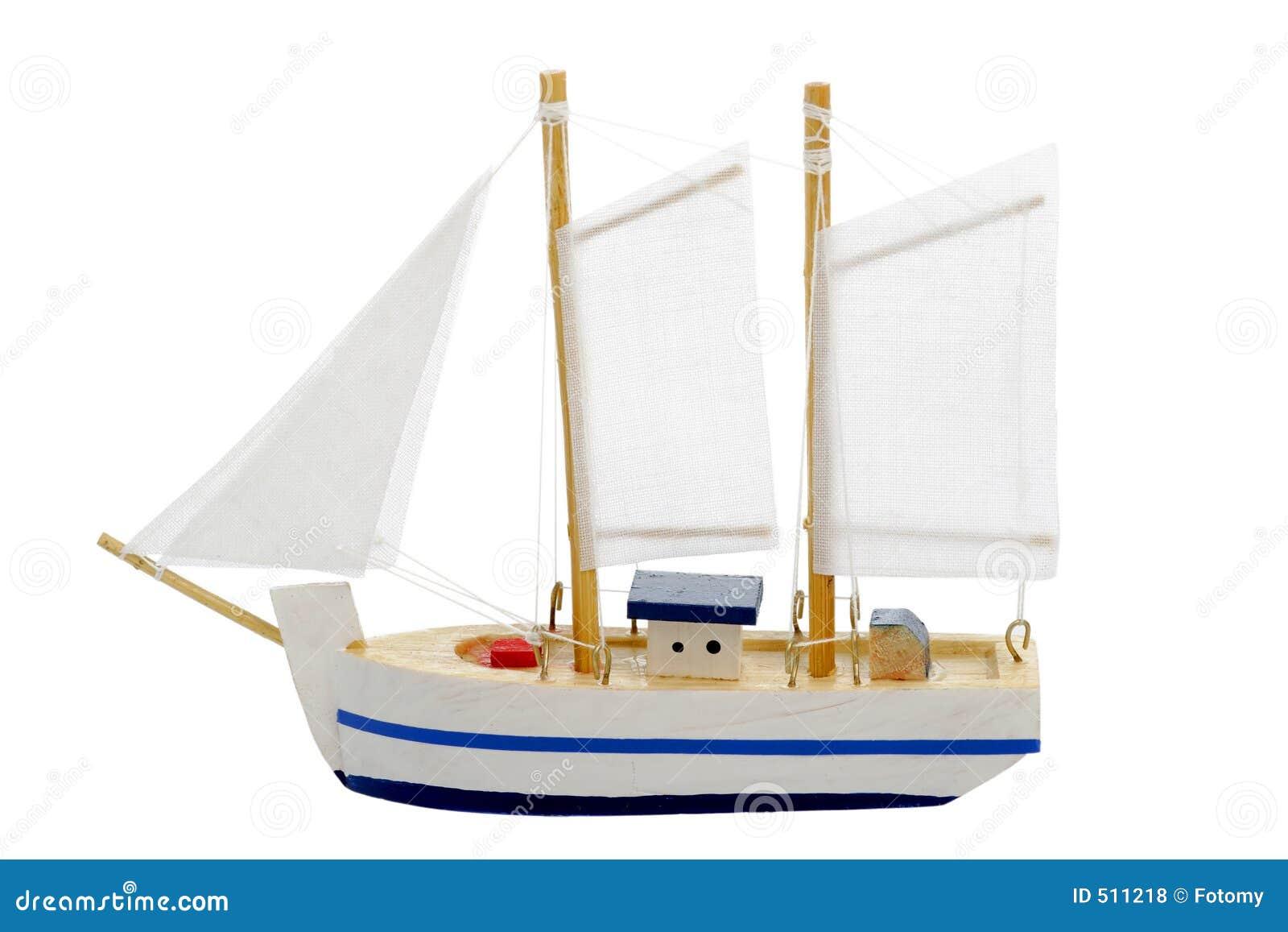 Toy Sailing Boat Royalty Free Stock Photos - Image: 511218