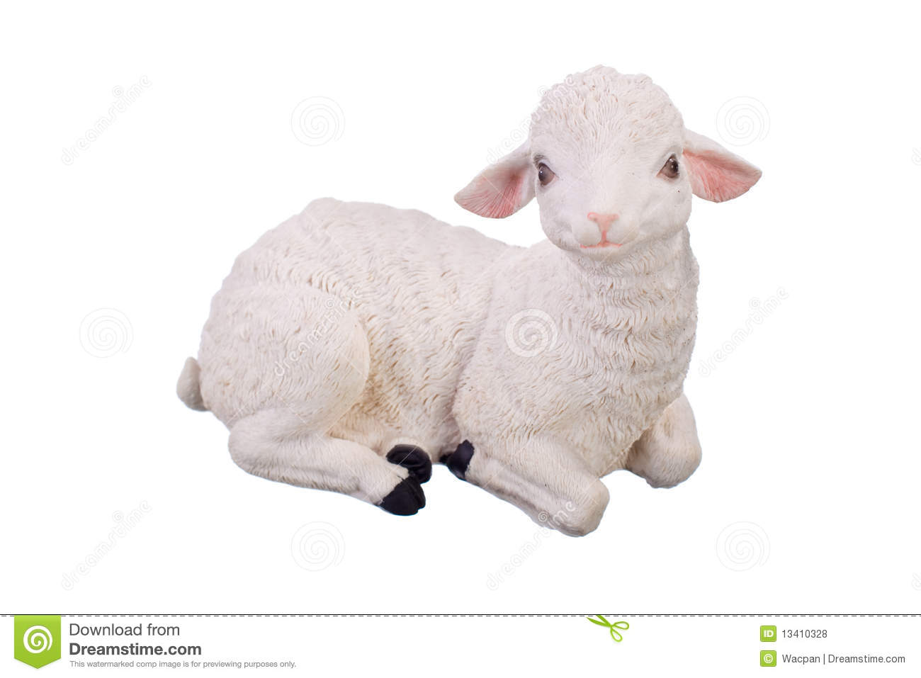 Toy Sheep Royalty Free Stock Photos - Image: 13410328