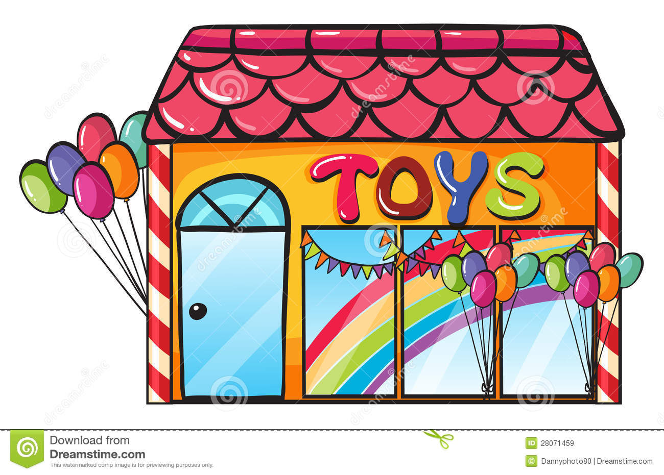 Toy Shop Royalty Free Stock Images - Image: 28071459