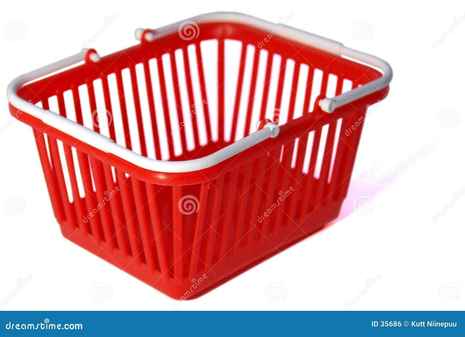 Toy Shopping Basket Royalty Free Stock Image Image 35686