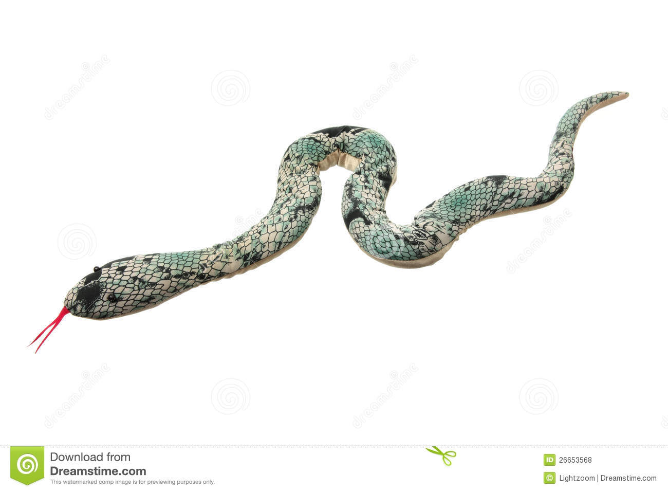 Toy Snake Royalty Free Stock Photos - Image: 26653568