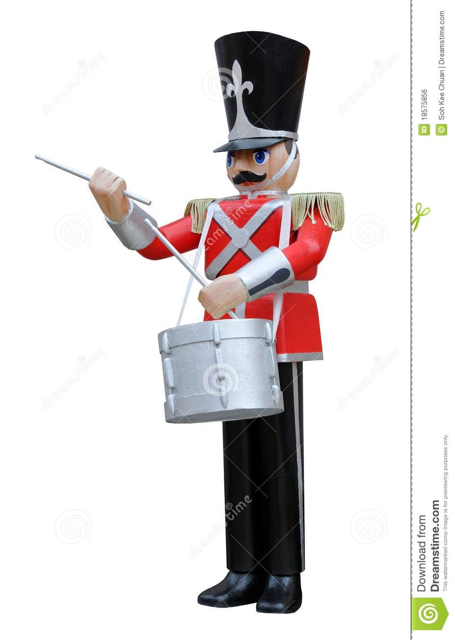 Toy Soldier Drummer Royalty Free Stock Image - Image: 18575856