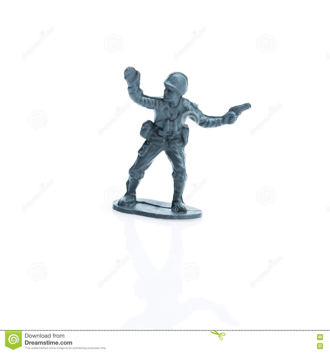 Toy soldier eight