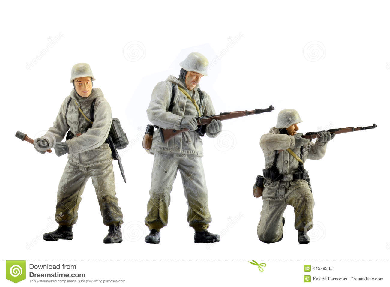 Army Toys Color : Toy soldiers stock photo image