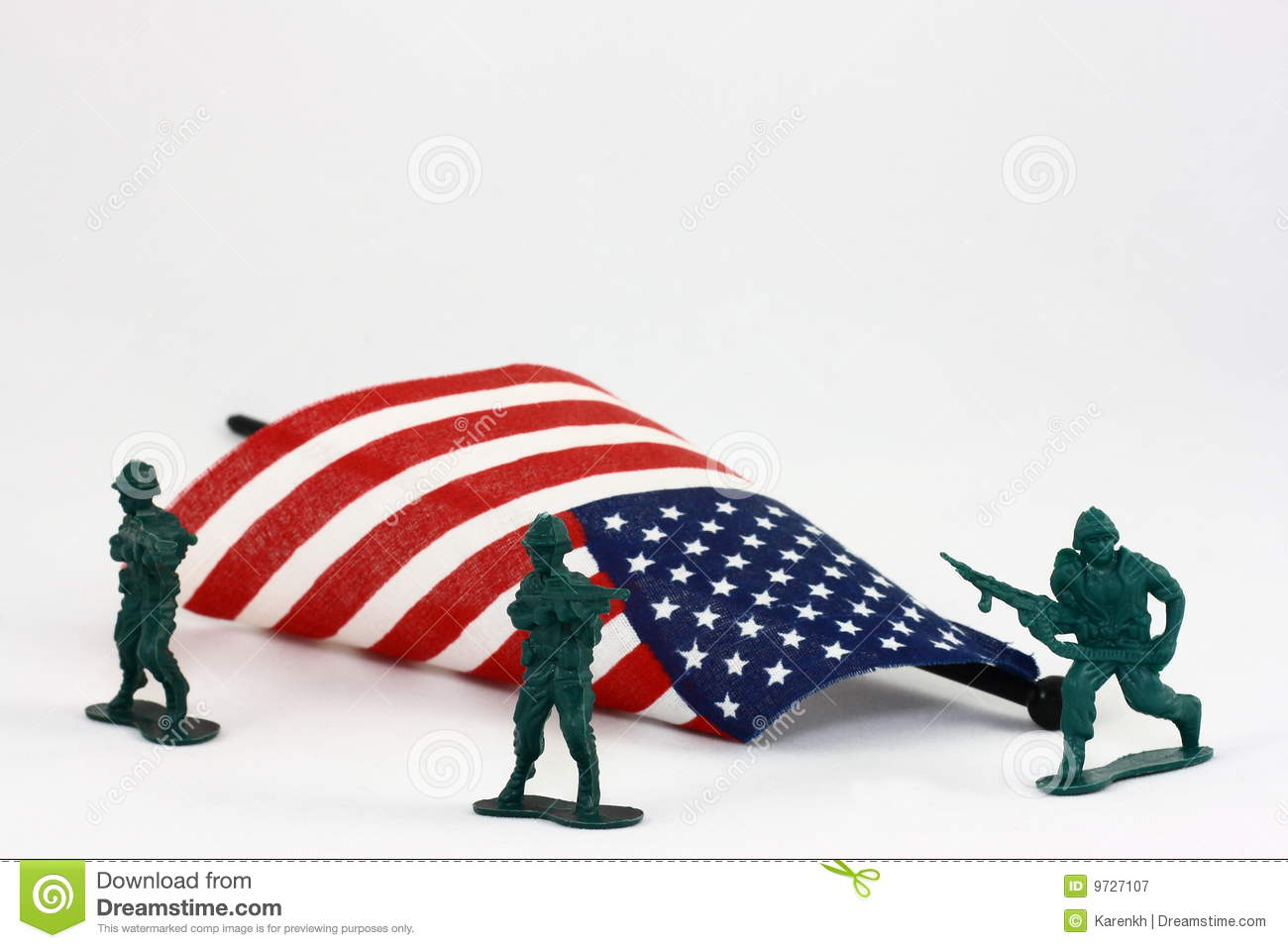 PROTECTING THE AMERICAN FLAG