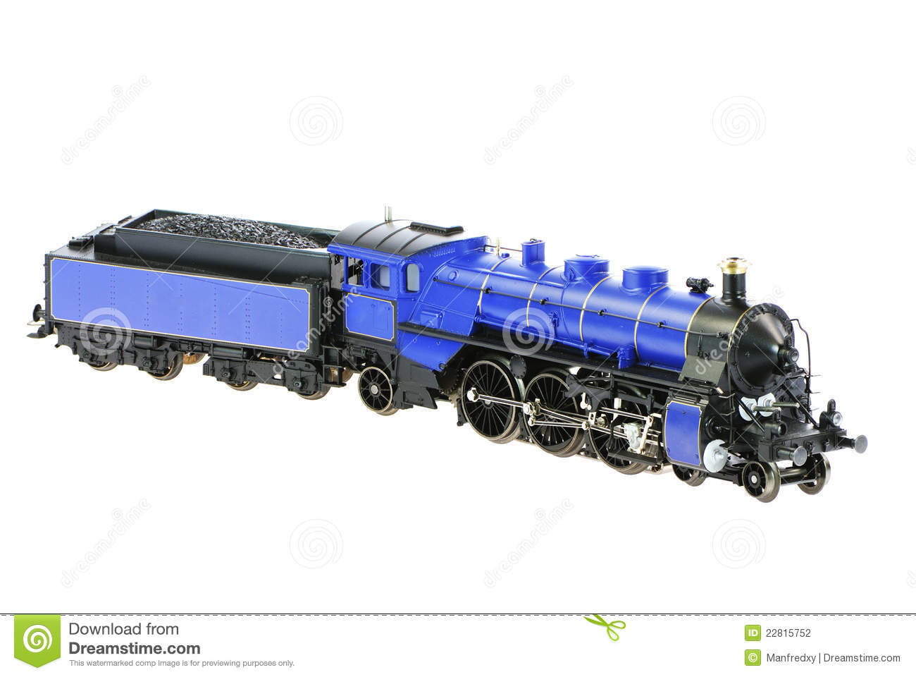 Toy Steam Locomotive Stock Photography - Image: 22815752