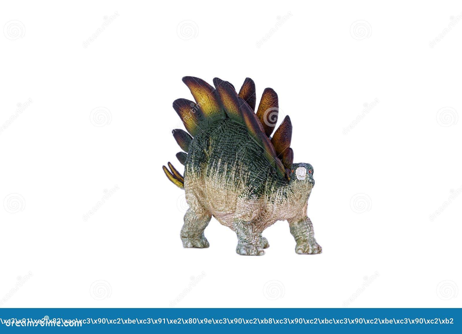 Toy Stegosaurus Dinosaur
