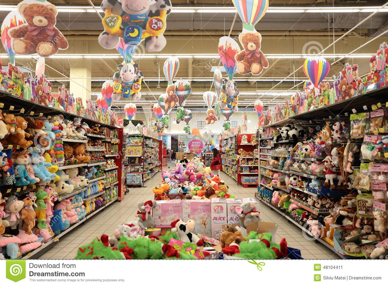 Christmas Toy Store : Toy store editorial photo image of retail aisle