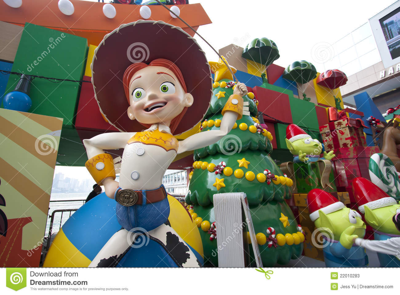 Toy Story Christmas : Toy story christmas decorations in hong kong editorial