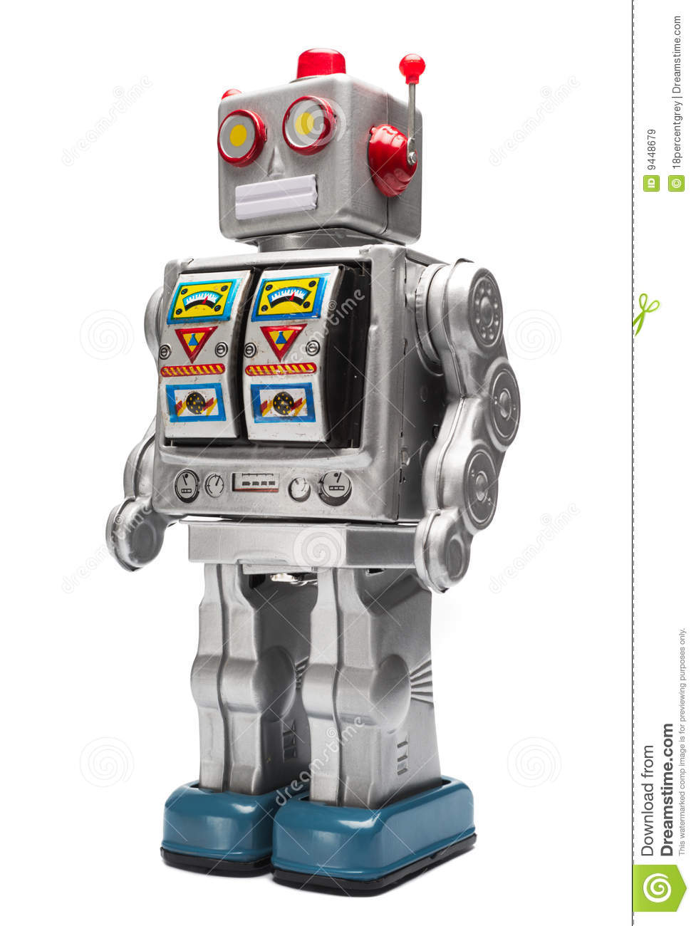 Toy Tin Robot Royalty Free Stock Images - Image: 9448679