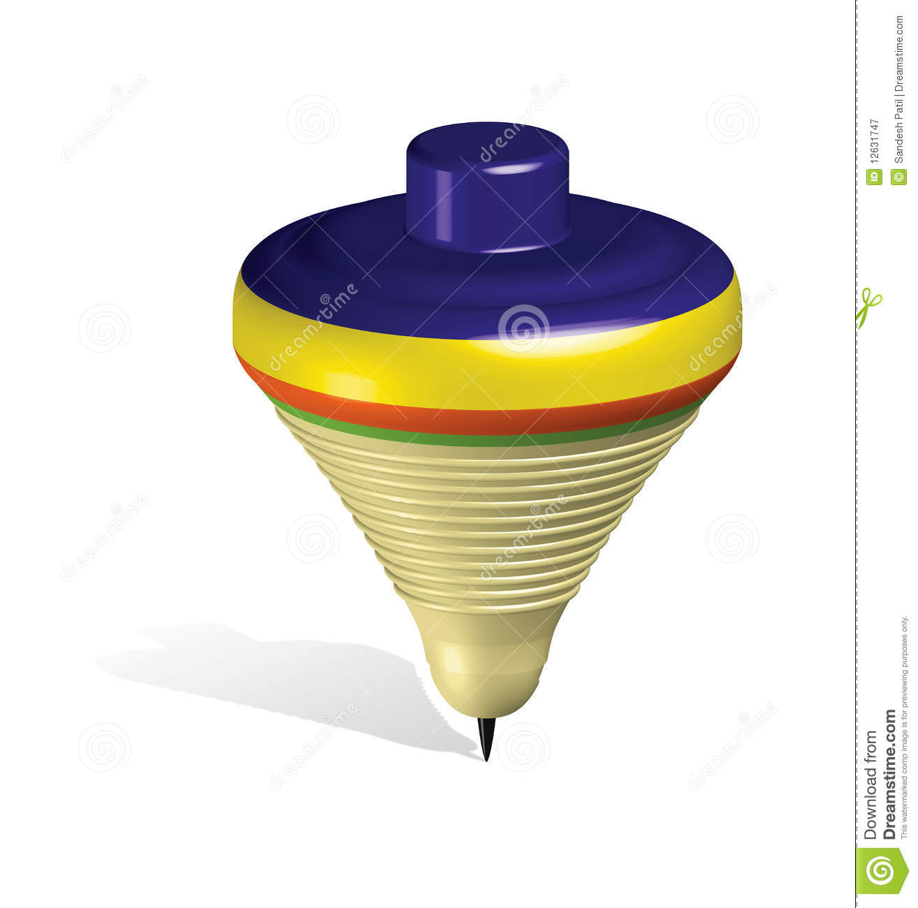 Toy Top Stock Illustration Of Balance Infancy