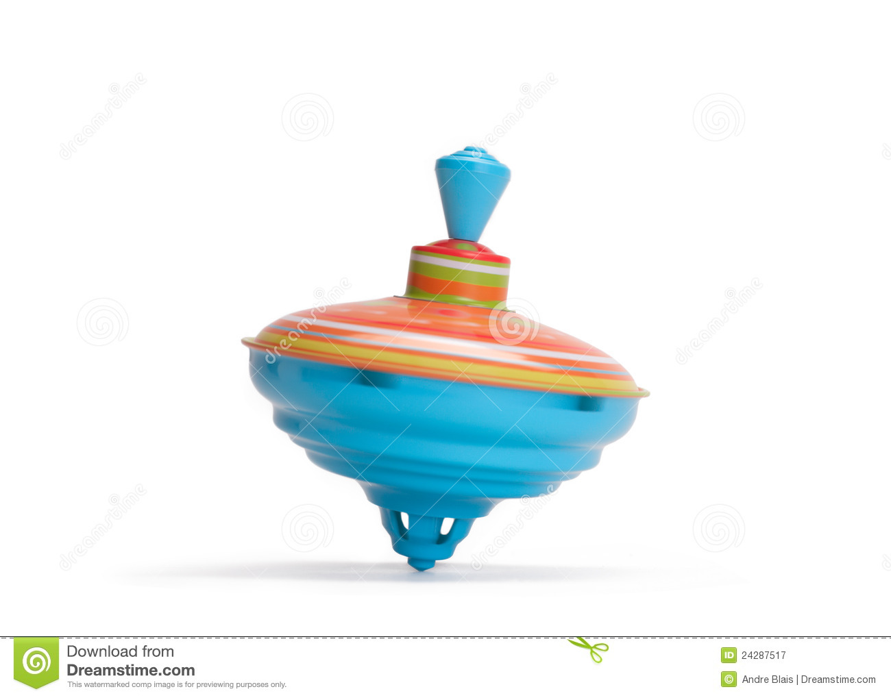 Toy Top Royalty Free Stock Photography - Image: 24287517