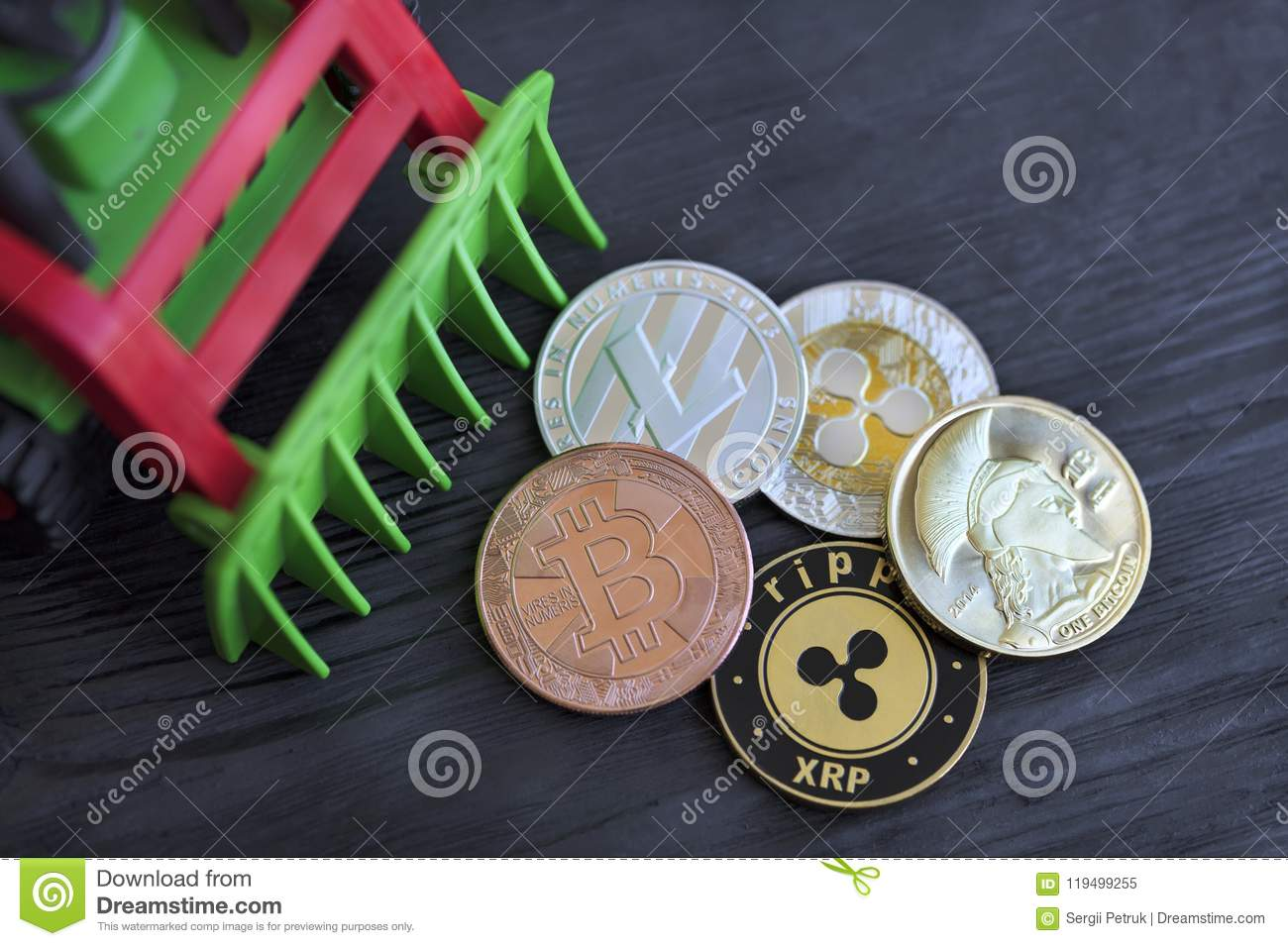 cryptocurrency coins for toy