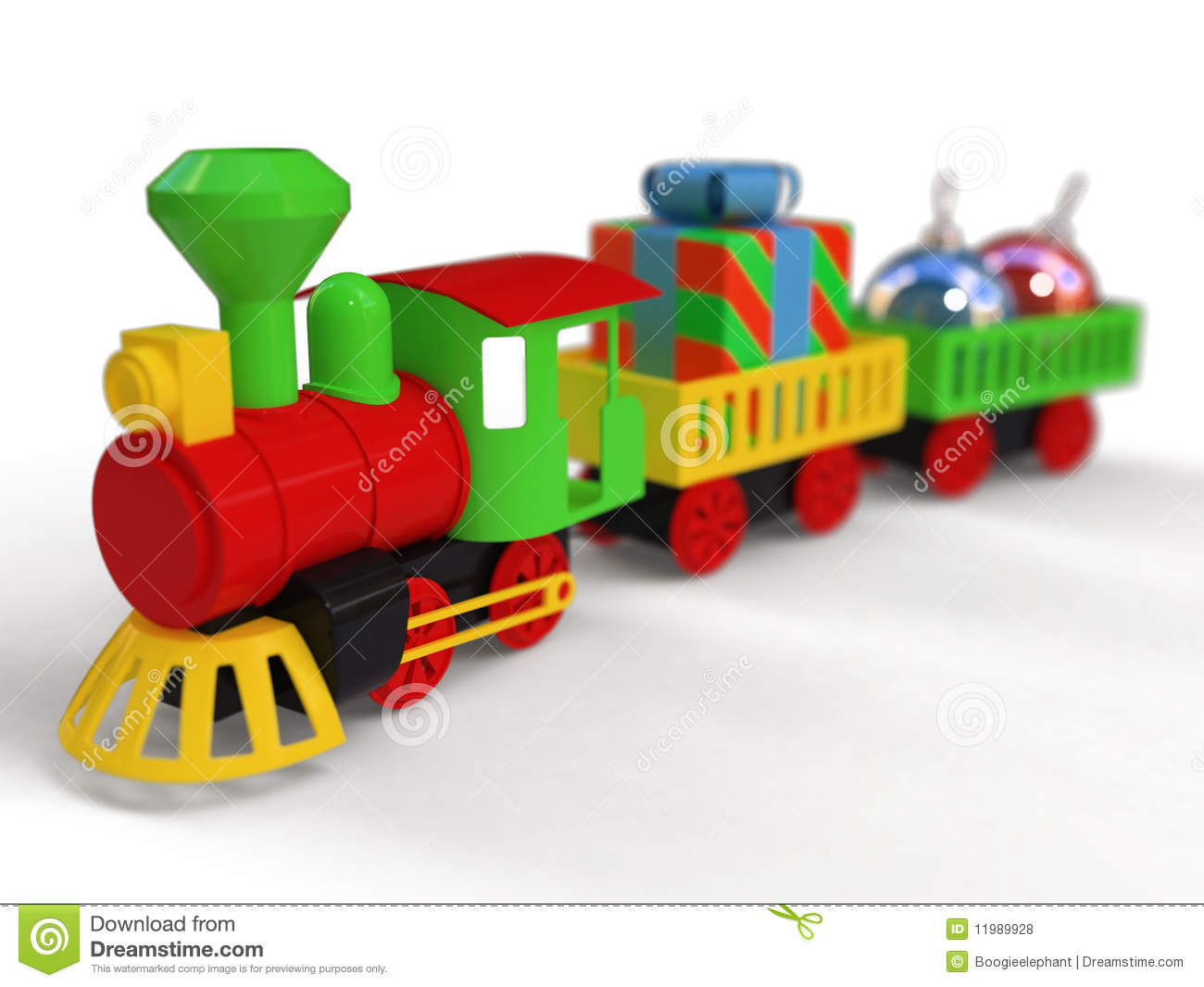 Toy train for child