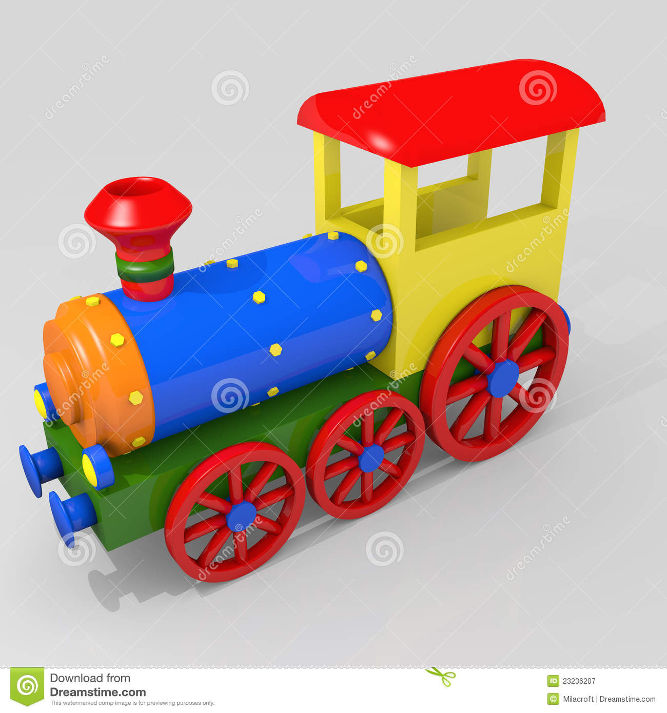 Toy Train Royalty Free Stock Photography - Image: 23236207