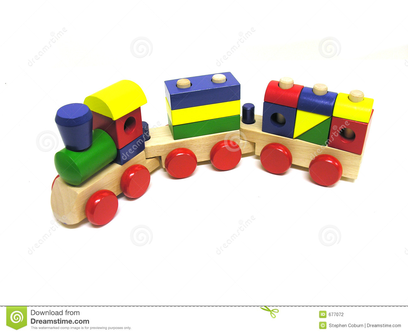 Toy Train Stock Photography - Image: 677072