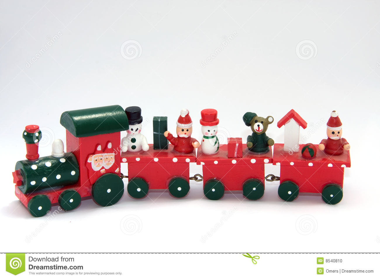 Toy Train Stock Photo - Image: 8540810