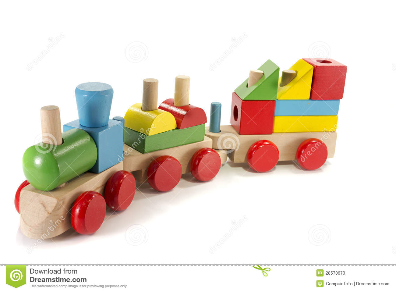 More similar stock images of ` Toy train made from wood `