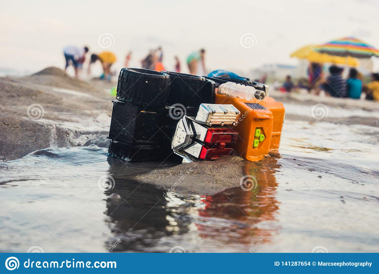 Toy Truck Washed Ashore