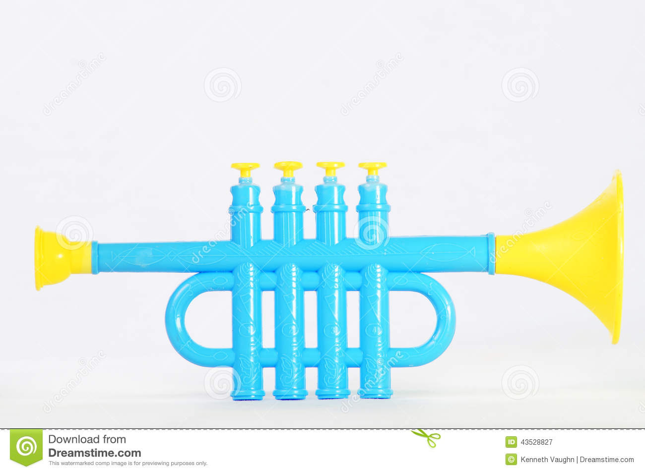 Toy trumpet stock photo image 43528827 royalty free stock photo download toy trumpet sciox Choice Image