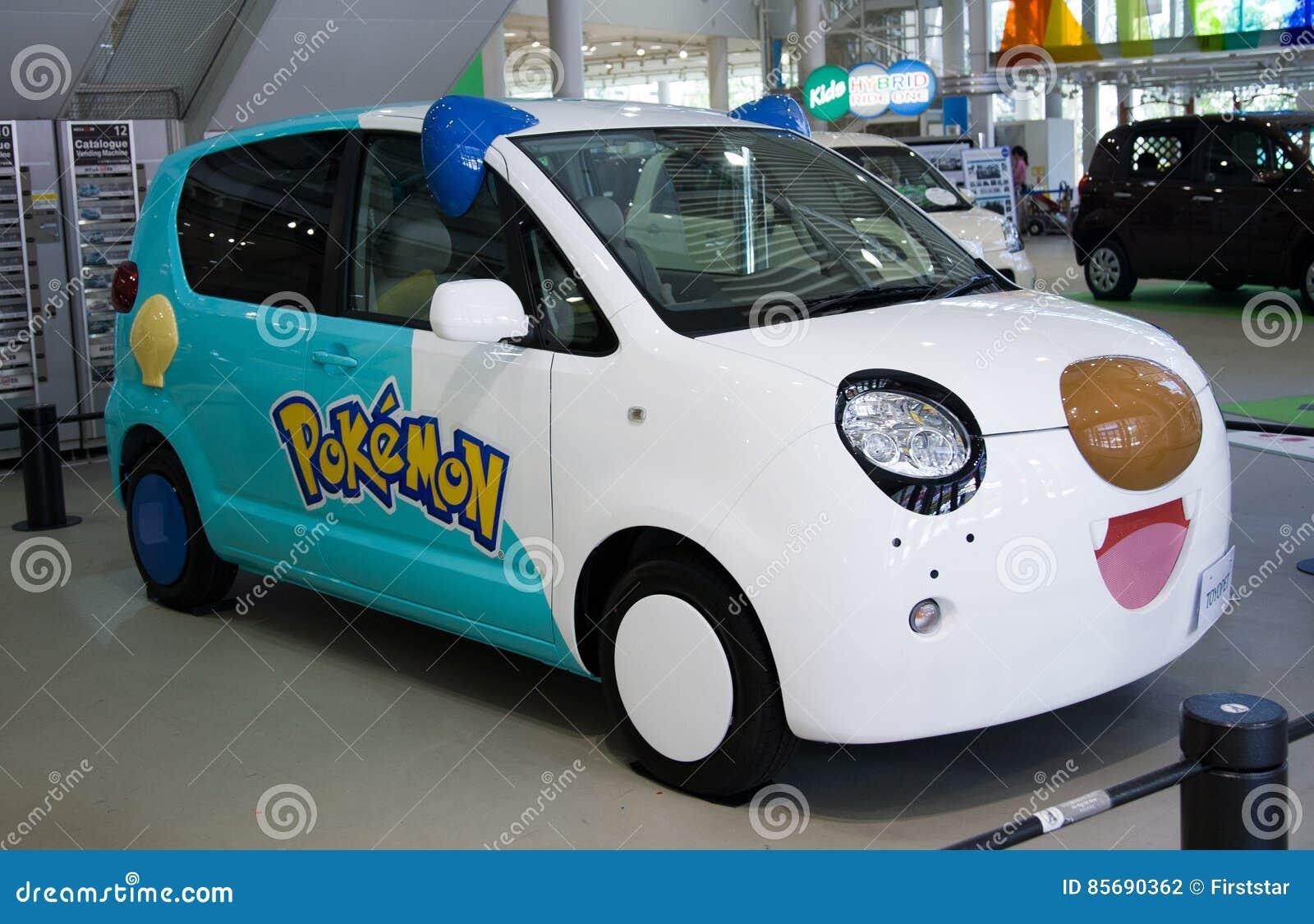2017 Toyopet Pokemon Toyota Car Japan Editorial Photography