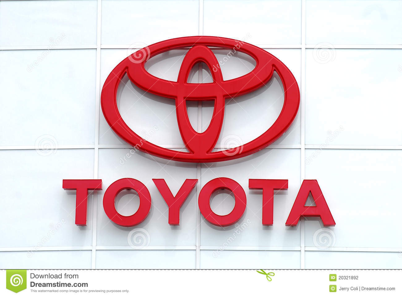 Toyota Brand Logo Editorial Photography Image Of