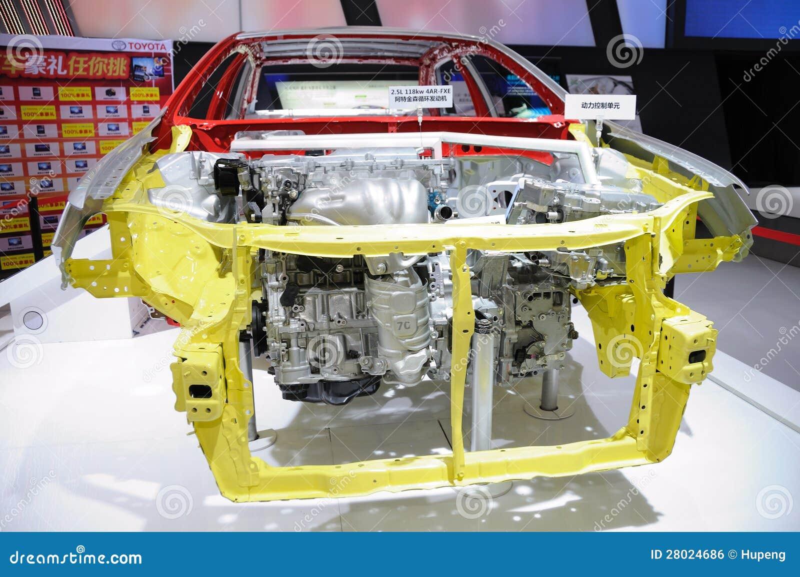 Toyota Camry car body