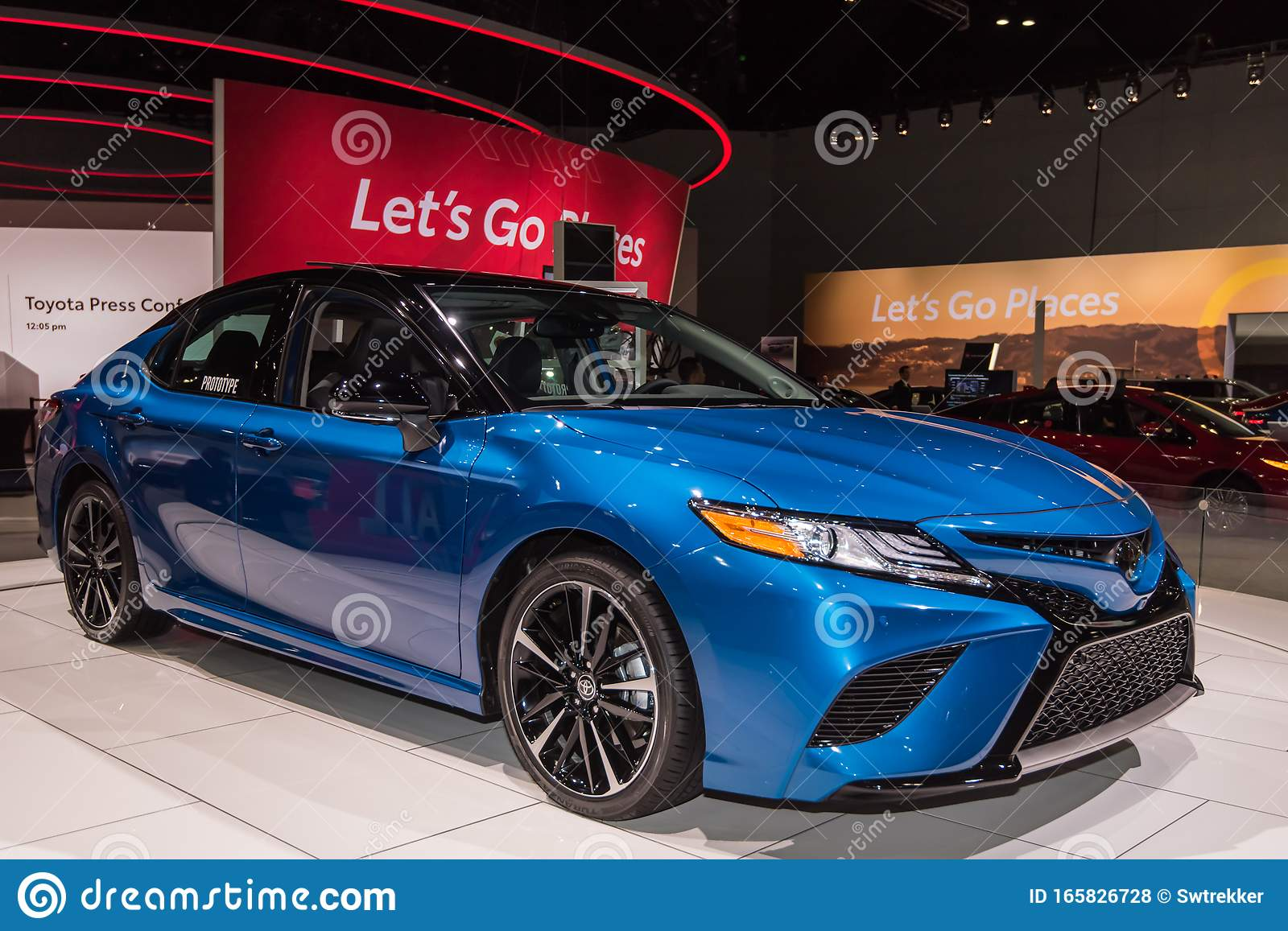 2021 toyota camry editorial stock photo image of