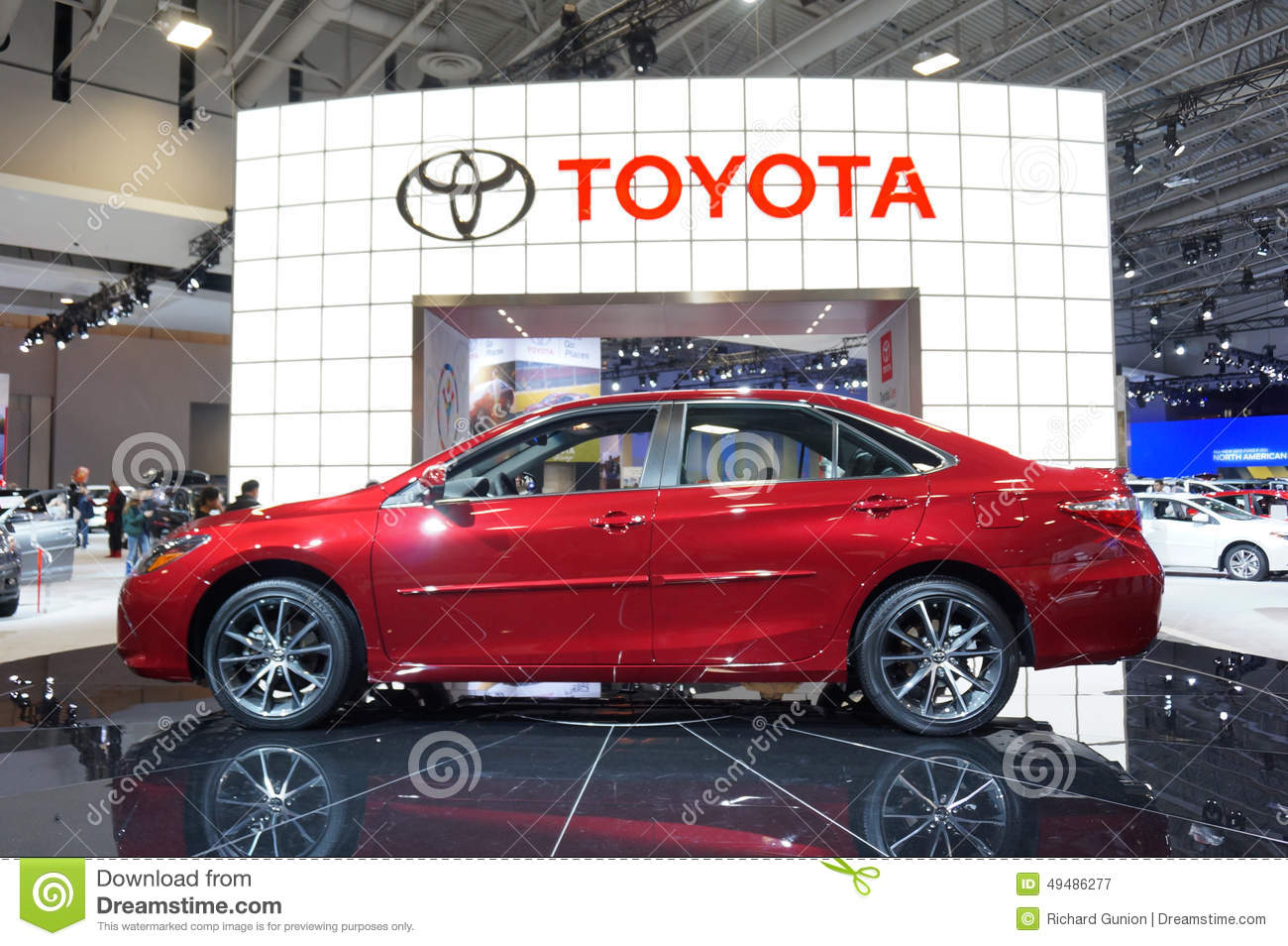 2015 toyota camry editorial photography image 49486277. Black Bedroom Furniture Sets. Home Design Ideas