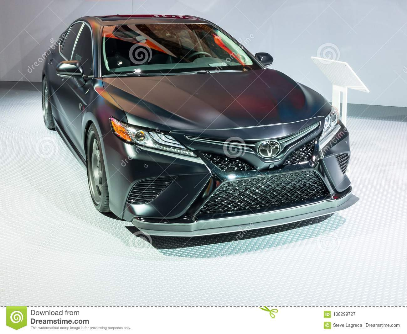 2018 Toyota Camry Xse Trd Edition Naias Editorial Photography