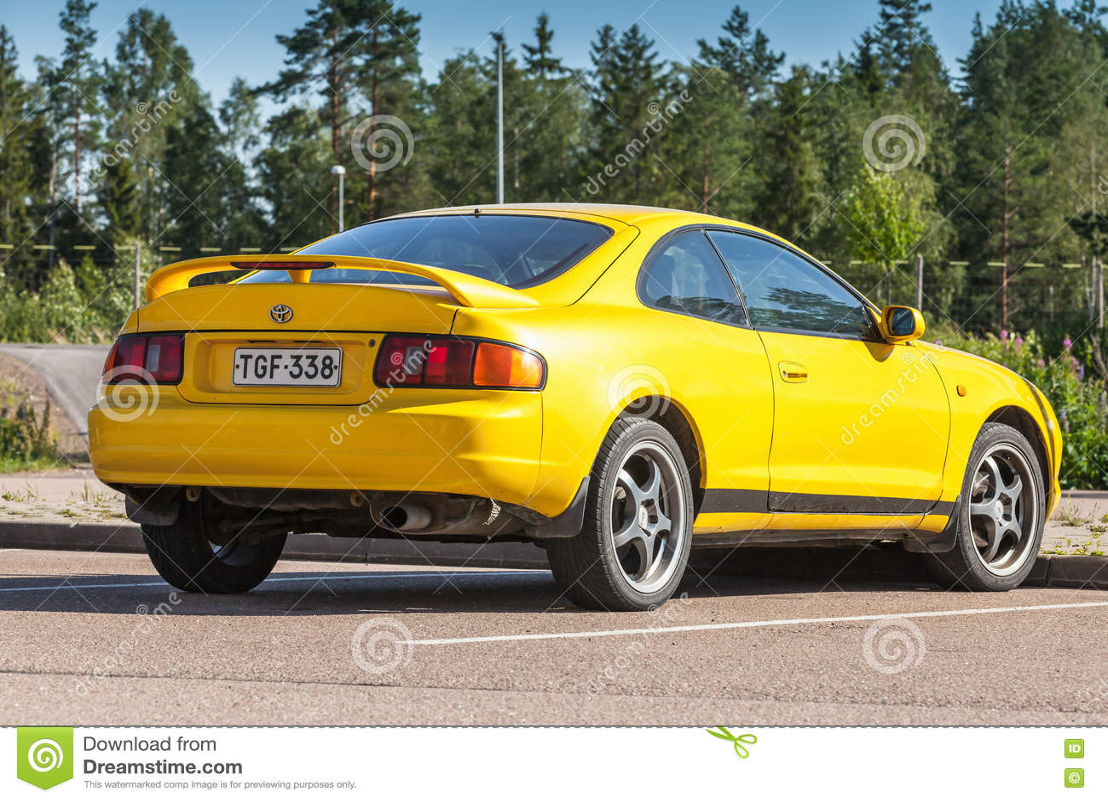 Toyota Celica 2016 >> Toyota Celica Gt Liftback T200 Model Editorial Image Image