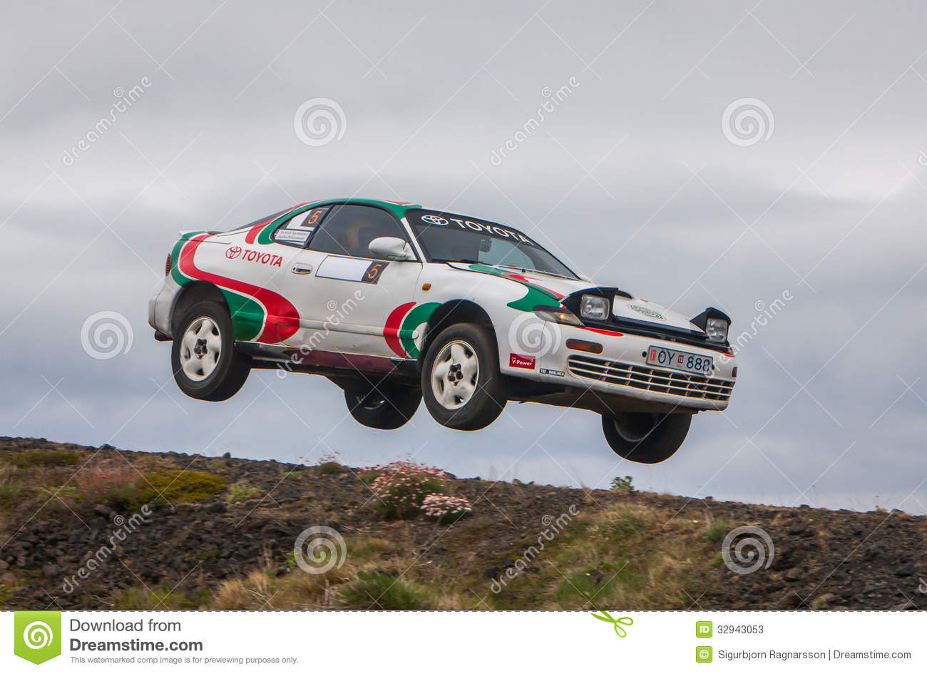 Rally Motor Credit >> Toyota Celica Rallycar Editorial Stock Photo - Image: 32943053
