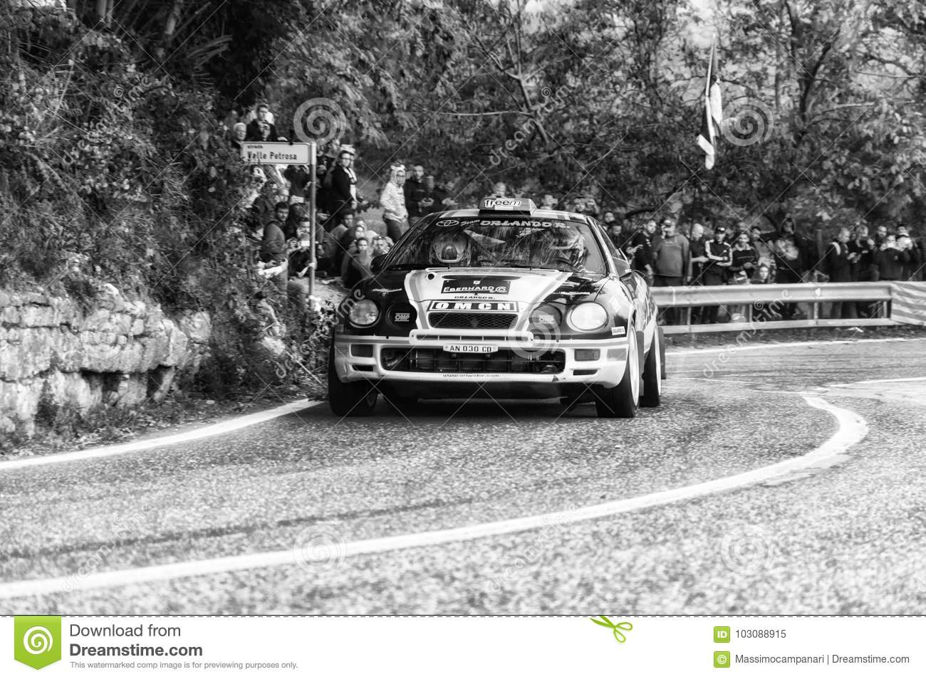 TOYOTA CELICA ST 205 1994 In Old Racing Car Rally THE LEGEND 2017 ...