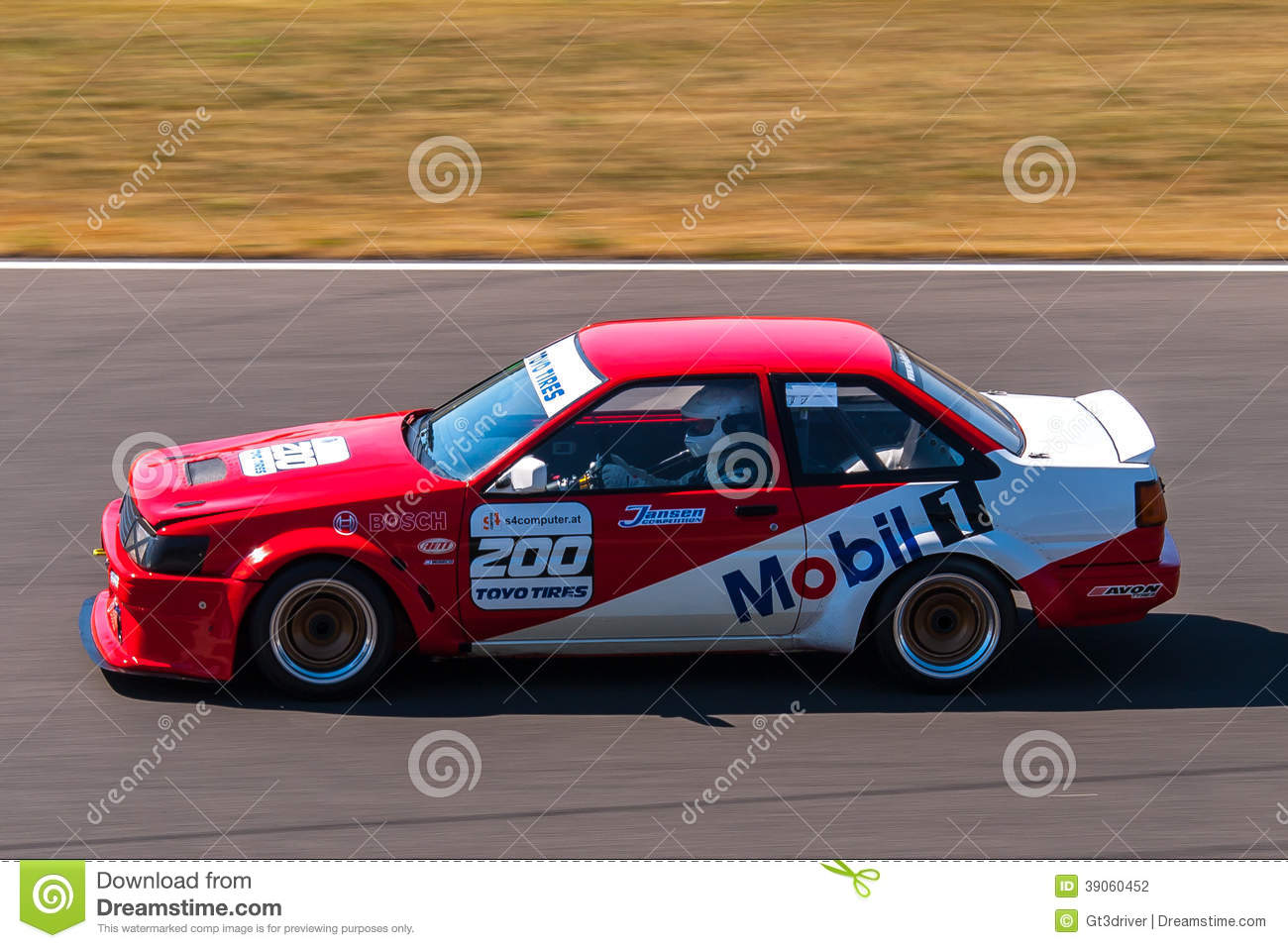 Toyota Corolla AE86 Race Car Editorial Photography - Image of ...
