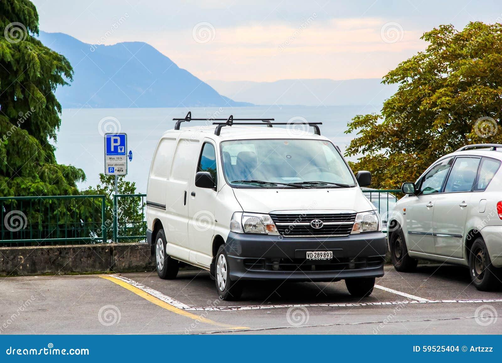 Toyota Granvia Editorial Stock Image Image 59525404