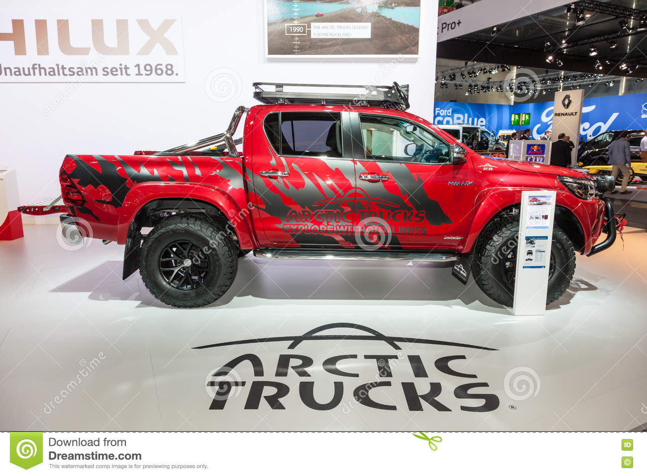 Toyota Hilux Arctic Trucks Editorial Stock Image Image Of Germany 77881934