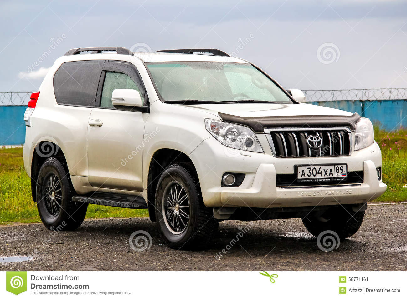Toyota Land Cruiser Prado 150 Editorial Photo Image