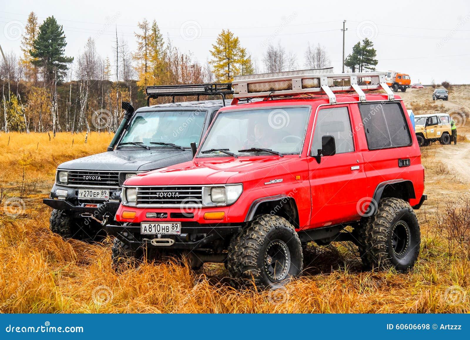 Toyota Land Cruiser Prado 70 Editorial Stock Photo Image Of Leaves 2015