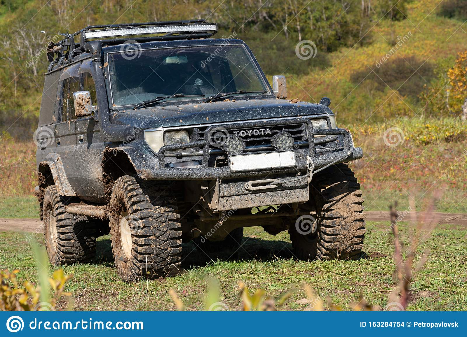 toyota land cruiser prado off road expedition truck on autumn forest landscape editorial stock image image of drive offroad 163284754 https www dreamstime com toyota land cruiser prado off road expedition truck autumn forest landscape toyota land cruiser prado japanese extreme off road image163284754