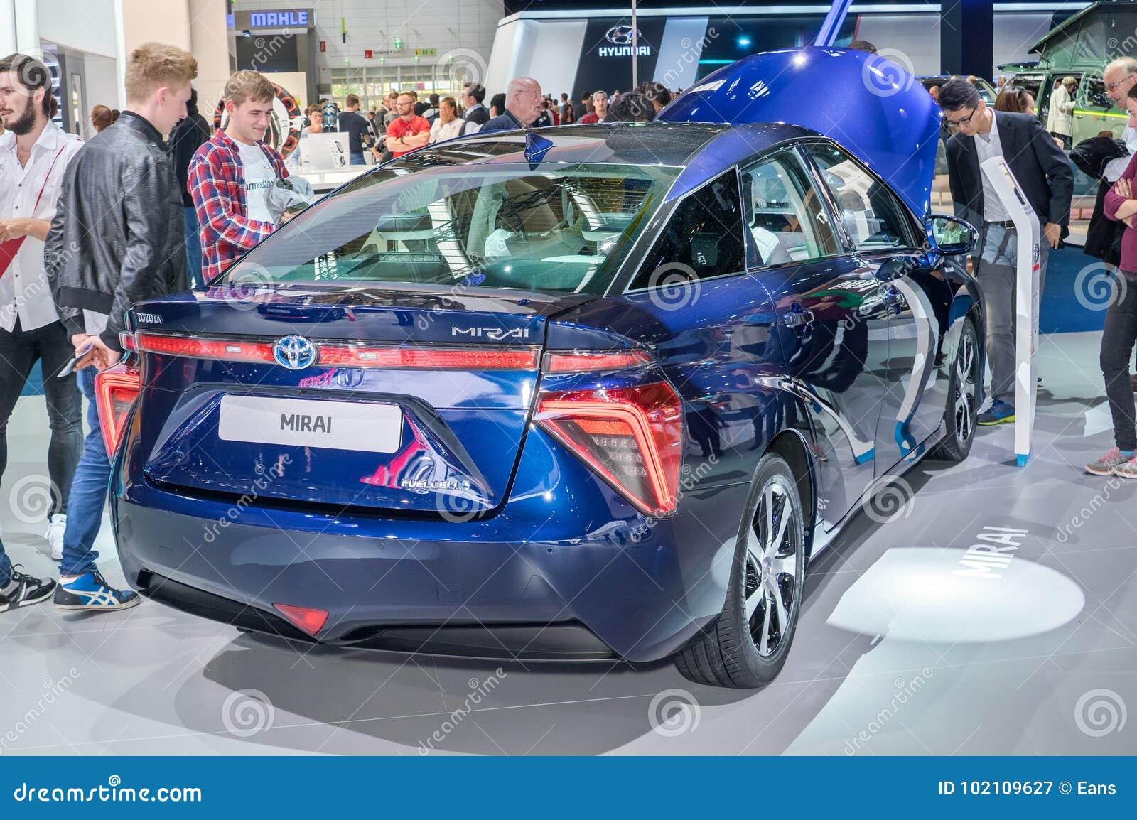 Toyota Mirai Hydrogen Fuel Cell Vehicle Editorial