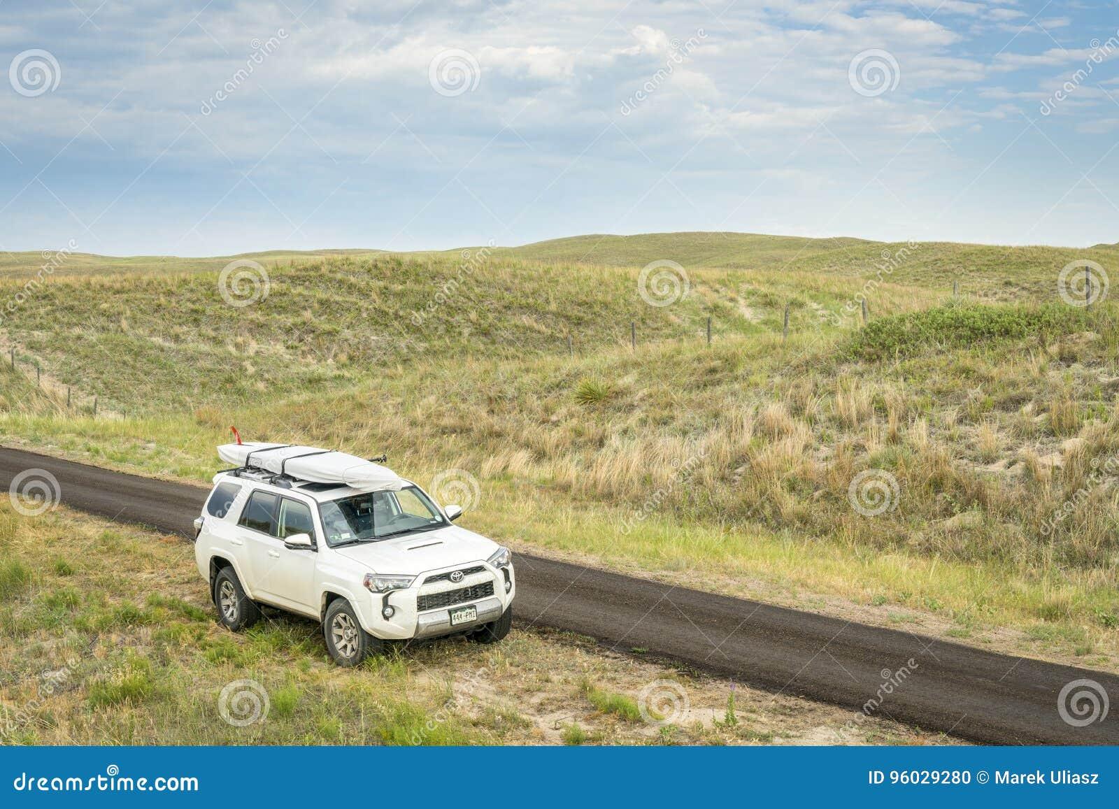 Toyota 4Runner SUV w Nebraska Sandhills