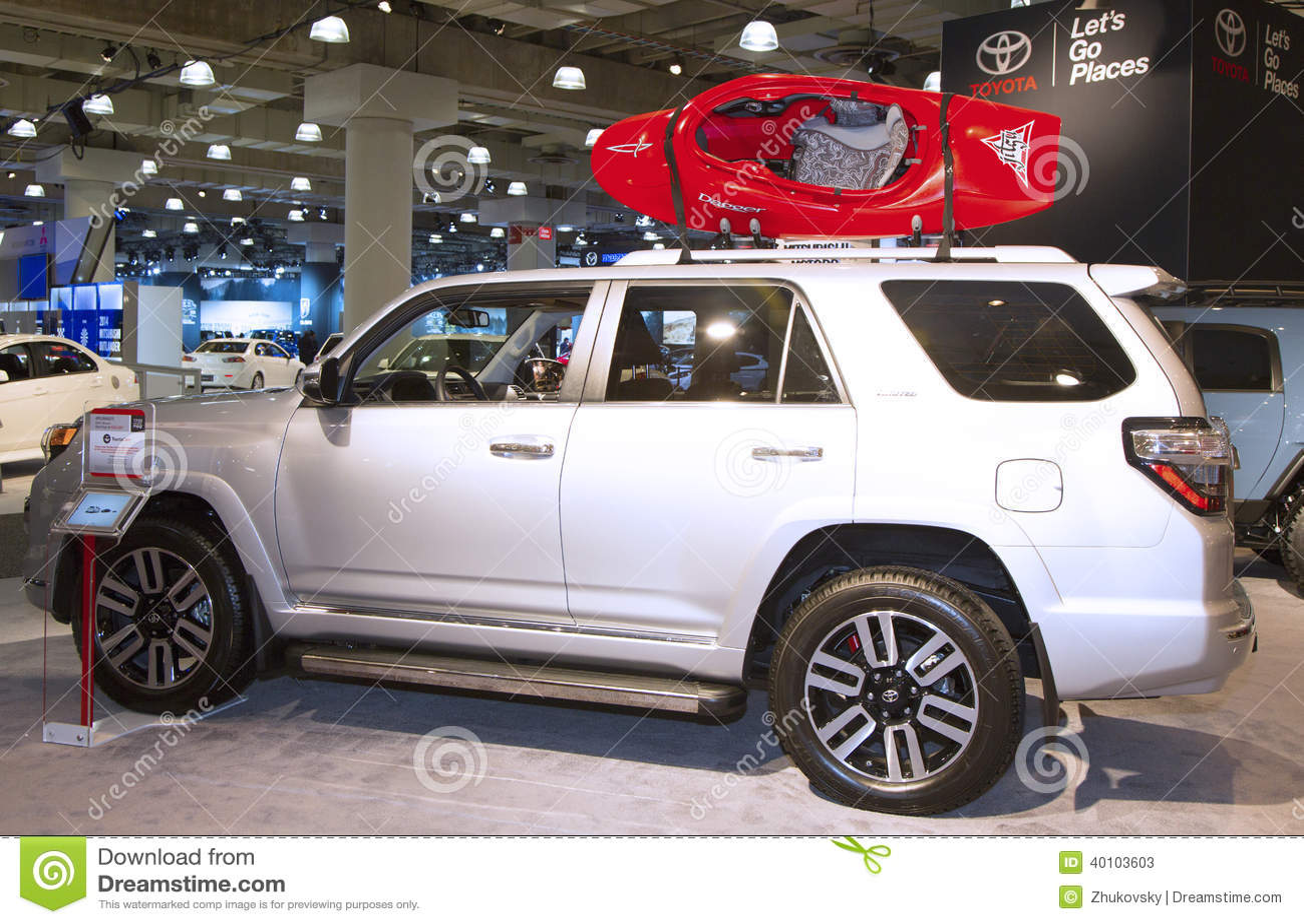 2015 toyota 4runner truck at the 2014 new york international auto show