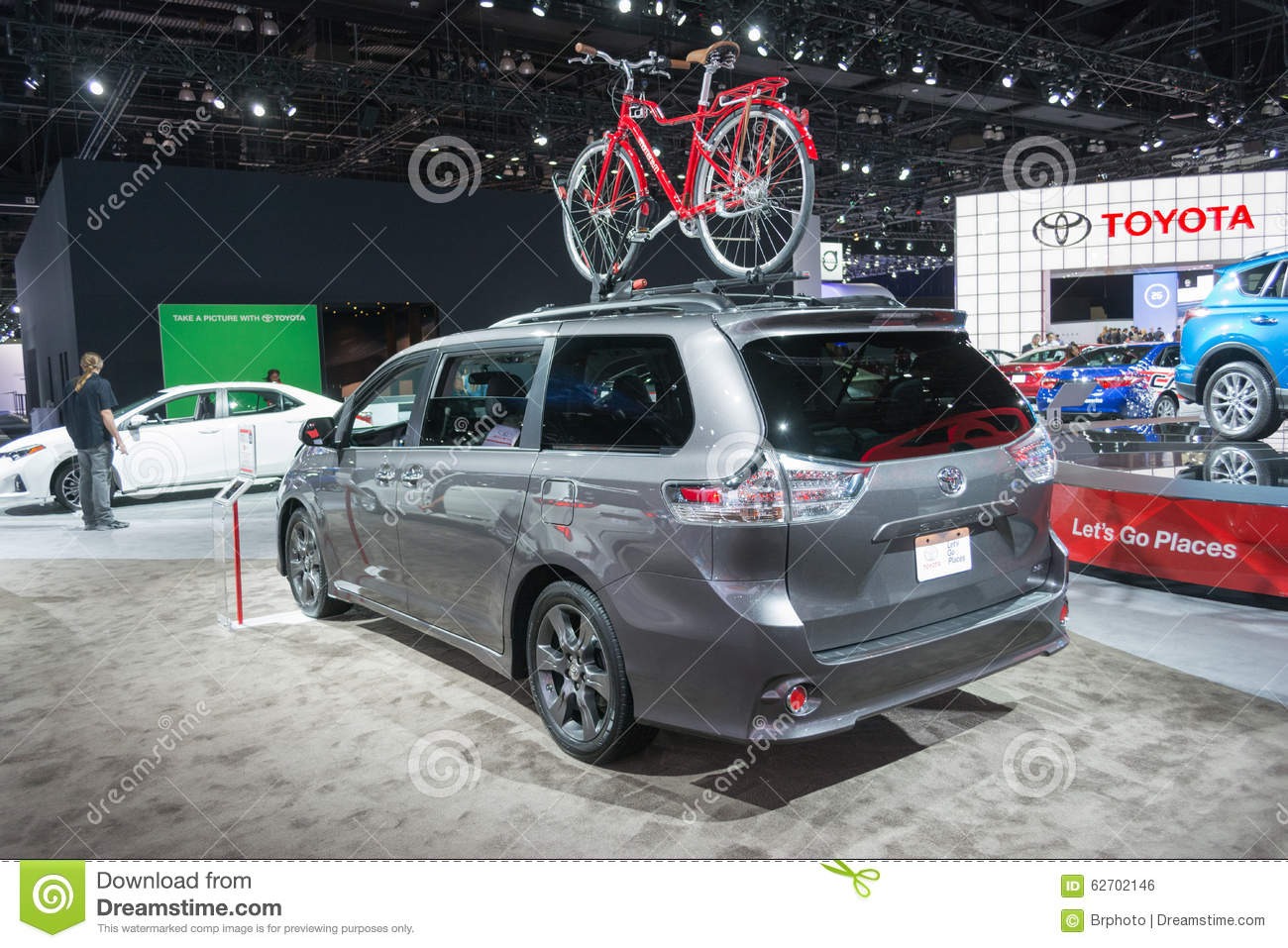 Toyota sienna 2016 editorial photo image 62702146 for Dream motors los angeles